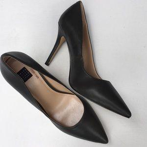 NWOT White House Black Market leather heels
